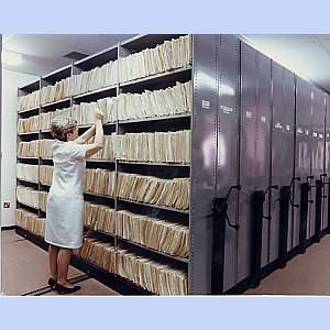 Medical Record Storage Medical X Ray Shelving Systems