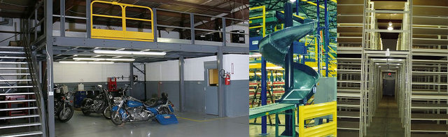 Used Steel Mezzanines