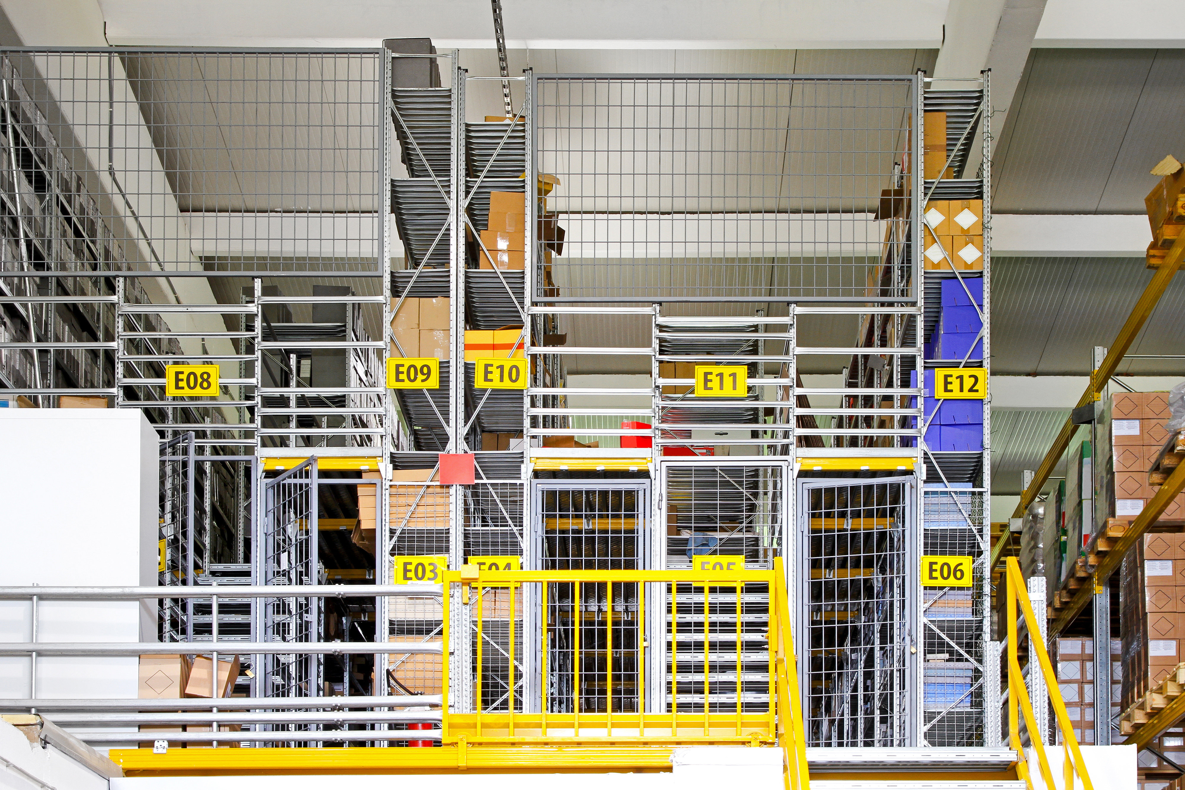 Industrial Security Cages