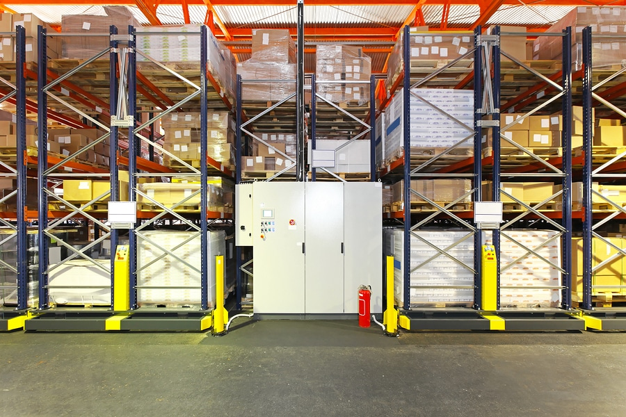 Sliding Shelving Systems in Michigan | SRS Shelving+Rack ...