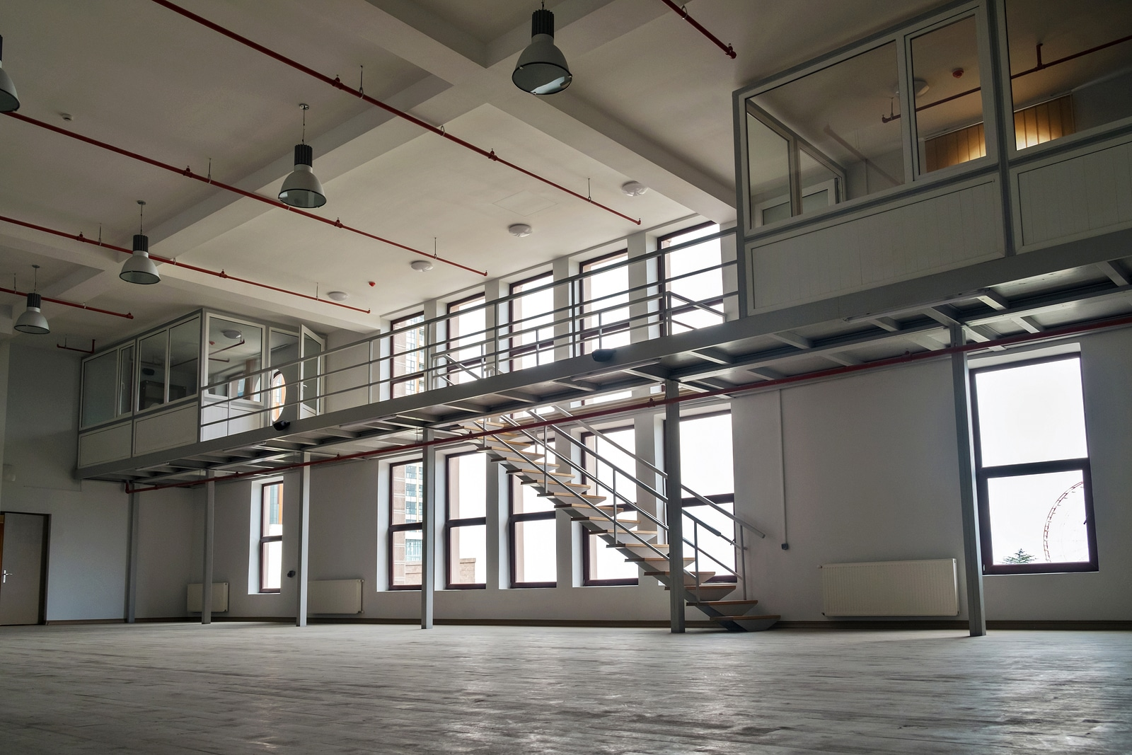 Mezzanine systems and platforms