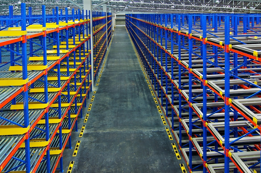 What is pallet racking?