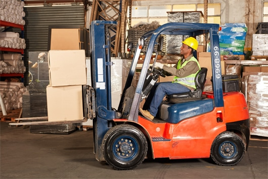 how to build a forklift
