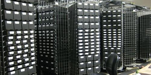 horizontal carousel storage system
