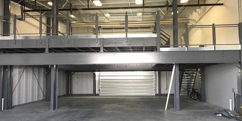 storage mezzanine platforms