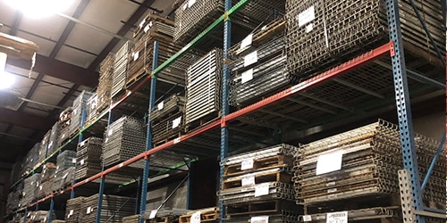 used warehouse pallet racks for sale