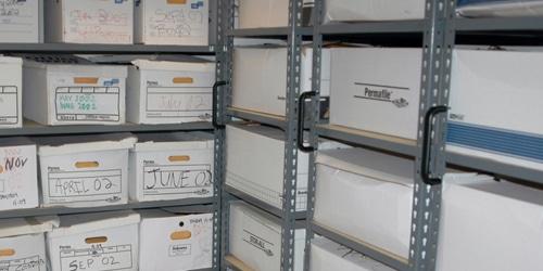 archival storage boxes