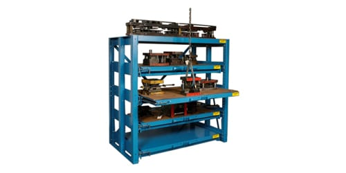 heavy duty die racks