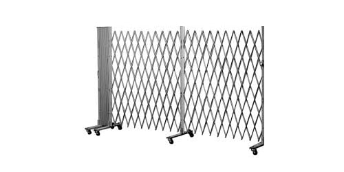 steel folding security gate