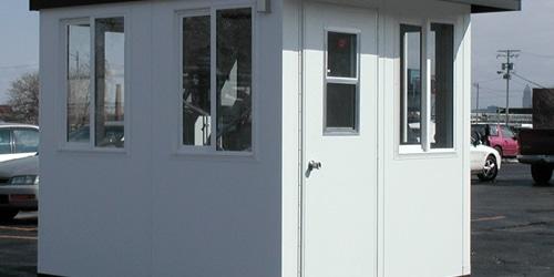 prefabricated guard shacks