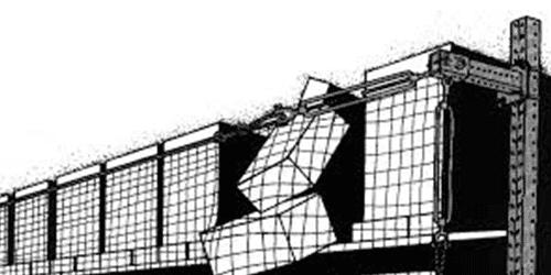 us netting wall mounted safety net