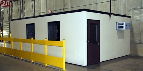 in Plant Modular Office Buildings