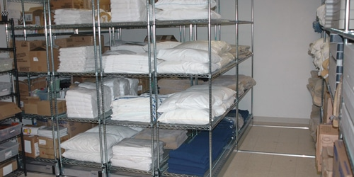 cost of wire shelving