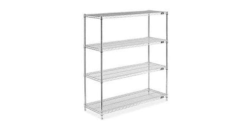 cheap wire shelving