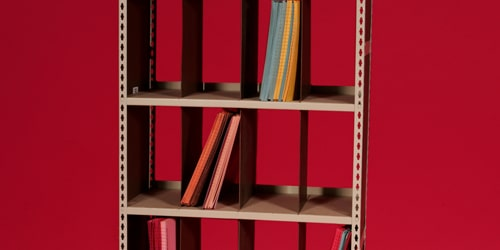 open shelf filing system