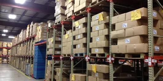 storage racks and shelves