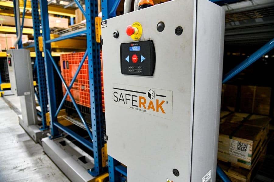 Mobile Racking System Space Saving Solution