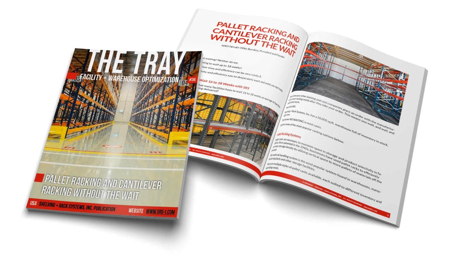 The Tray Issue 36 Pallet Racking and Cantilever Racking Without the Wait