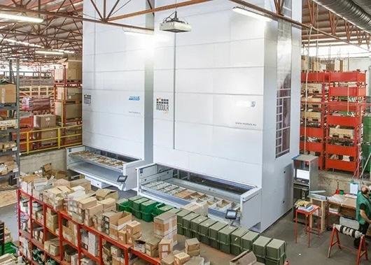 Vertical Lift Storage Module